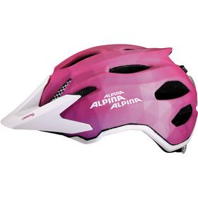 Alpina Carapax Flash Casco Niños, pink-white